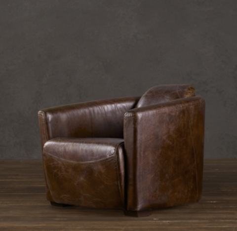 Chair Frame Rocket Leather Chair