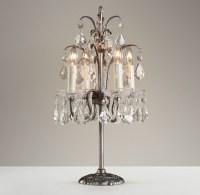Candelabra Table Lamp - Pewter