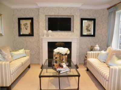 Wallpaper Living Room Design Ideas, Photos & Inspiration | Rightmove Home Ideas