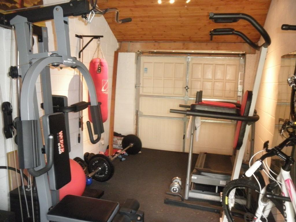 Sharon ebert spends £ on converting her garage into a gym