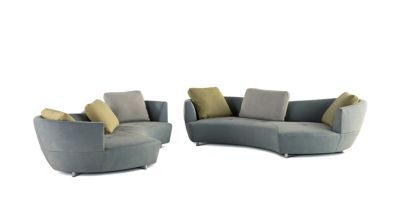 Sofa Fabric Name Digital Large Round 3-seat Sofa - Roche Bobois