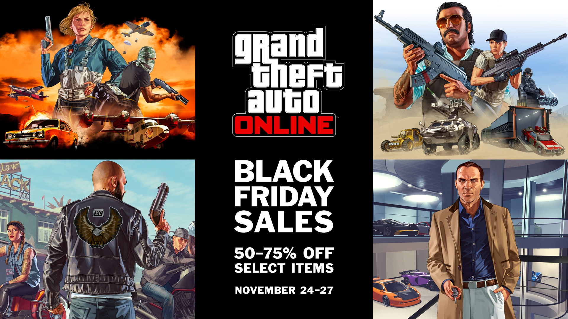 24 Movie Online Black Friday Weekend Discounts In Gta Online Nov 24 27