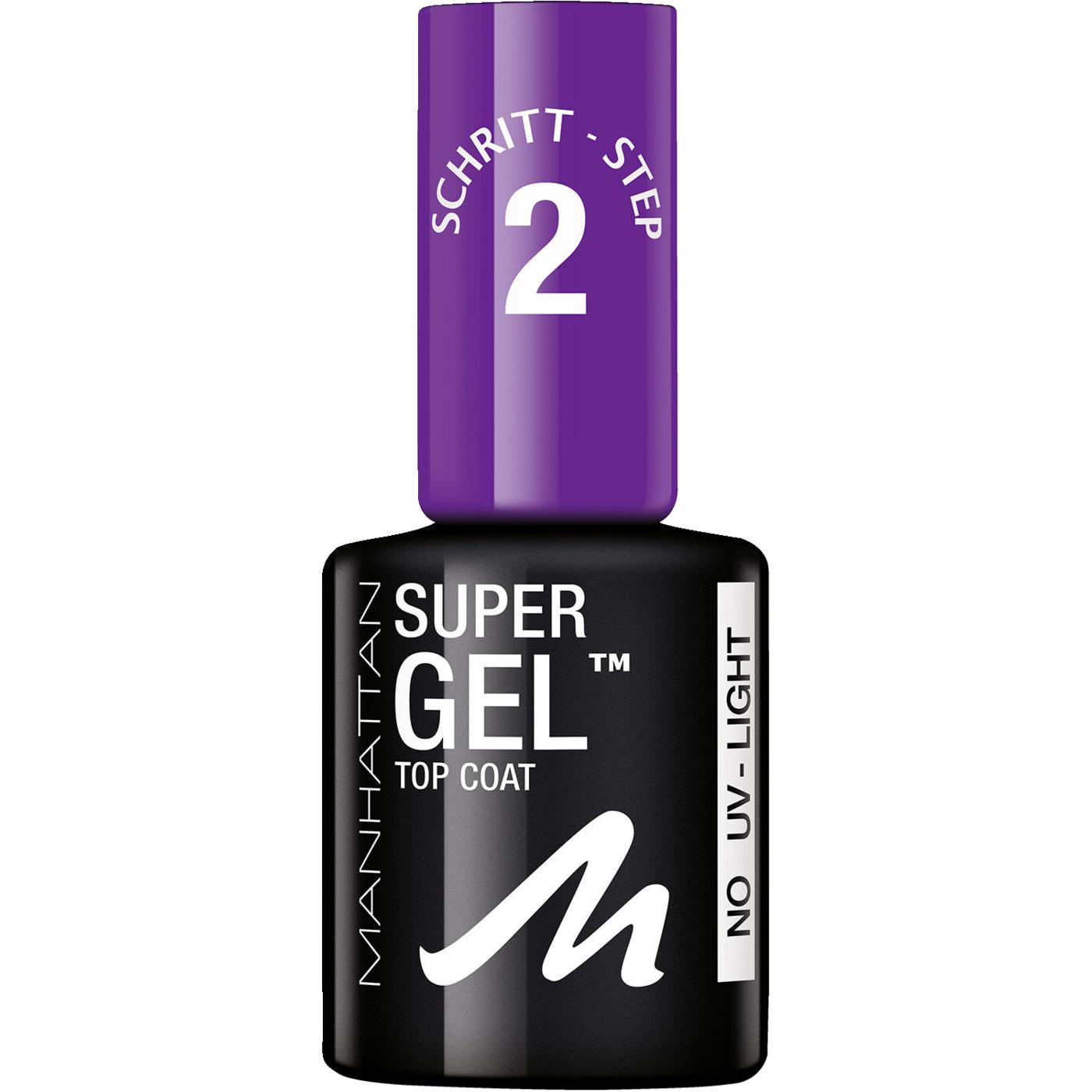 Gel Nagellack Mit Uv Lampe Super Gel Top Coat