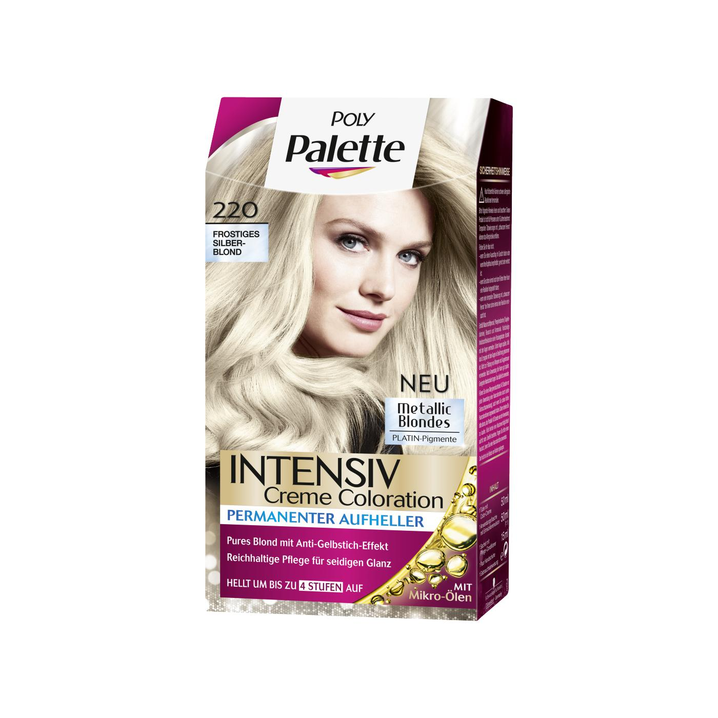 Poly Palette Farben Intensiv Creme Coloration