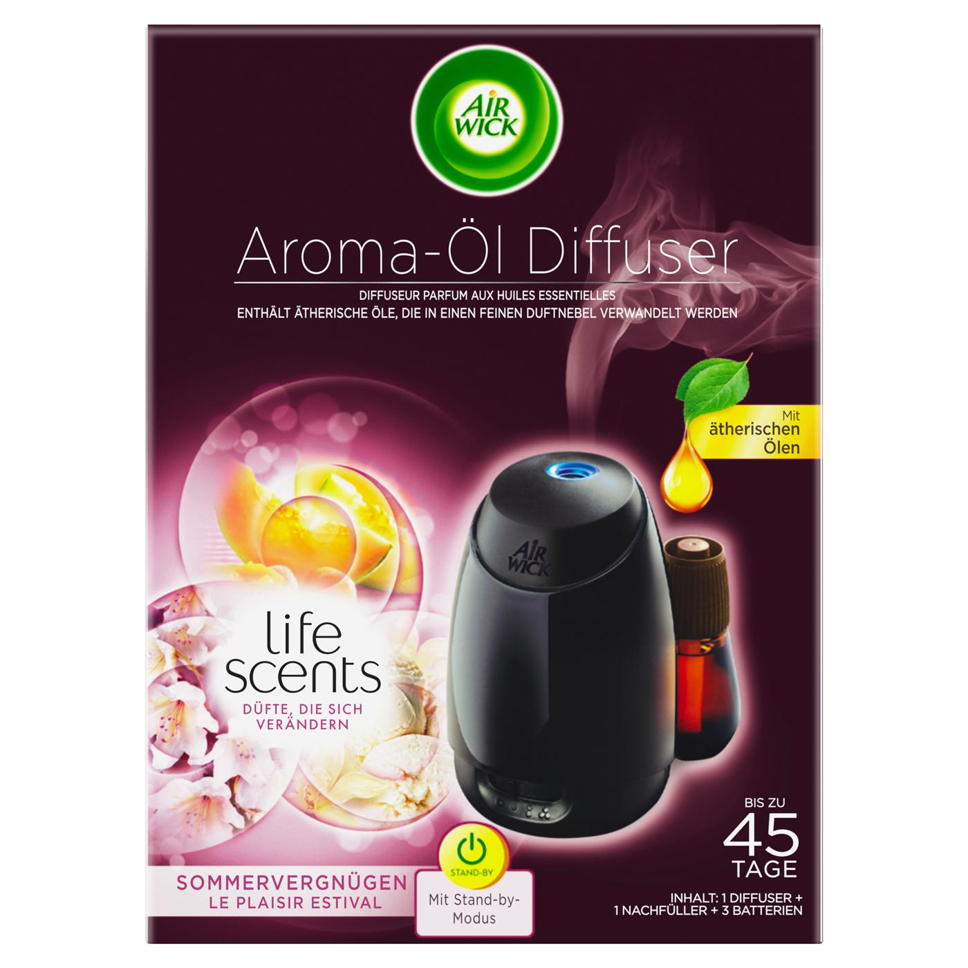 Duftöl Diffusor Life Scents Aroma Öl Diffuser