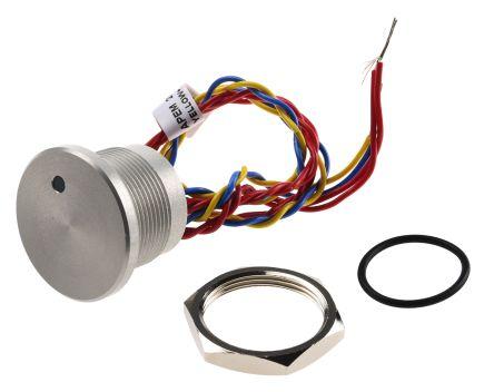 PBAR2AF0000LOB APEM Illuminated Wire Lead Piezo Switch, , IP68
