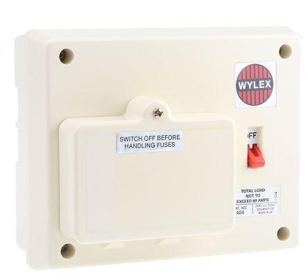 Wylex Consumer Unit Fuse Cover Wiring Diagram