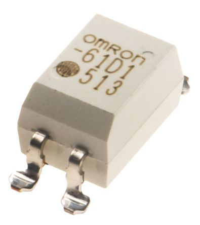 G3VM-61D1 Omron 05 A SPNO Solid State Relay, DC, Surface Mount