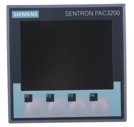 7KM2112-0BA00-3AA0 Siemens PAC3200 LCD Digital Power Meter, 92mm x