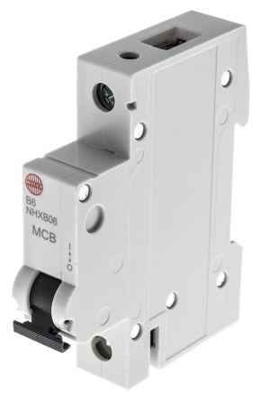 RSNHXB06 Wylex 6A 1 Pole Type B Miniature Circuit Breaker NSB