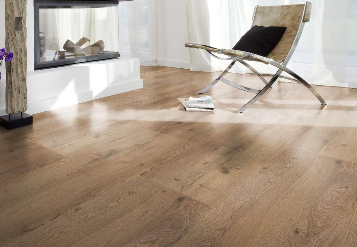 Bol Com Mammoet Extra Wide Macedonian Oak Eiken Laminaat 8mm - Laminaat Richting