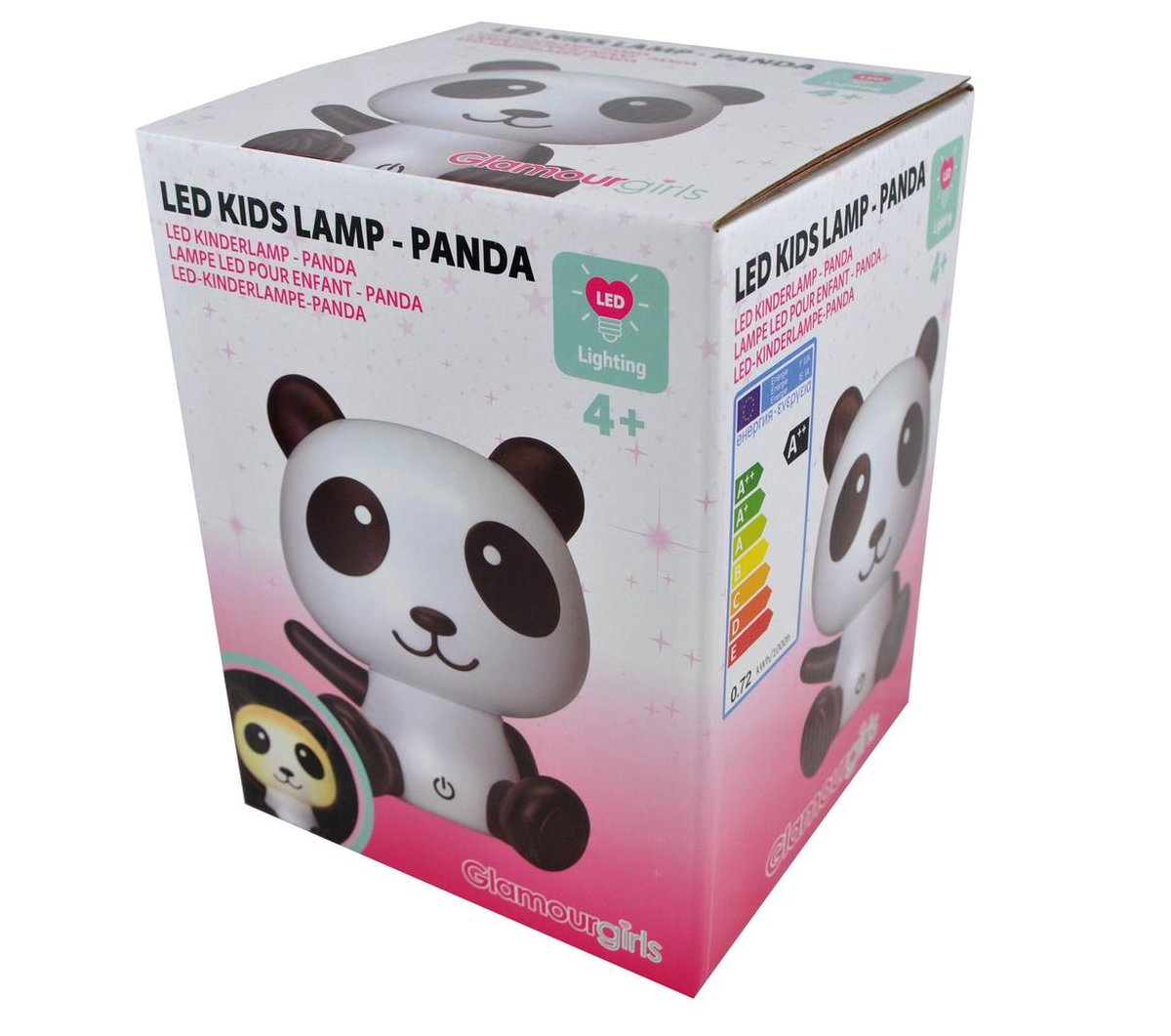 Bol Com Glamour Girls Led Kinderlamp Panda