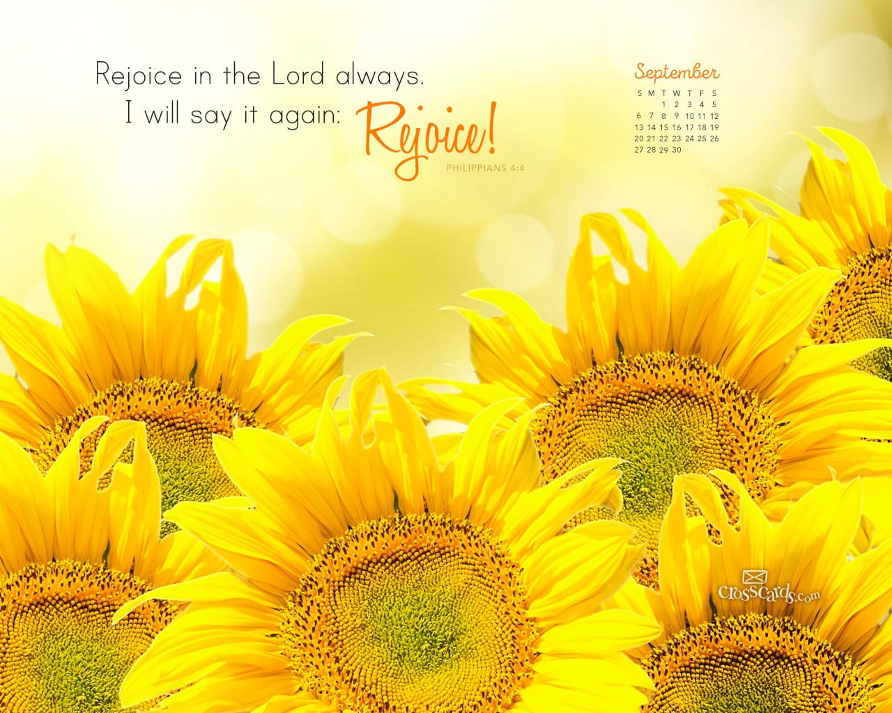 Free Desktop Wallpaper Scripture Fall Inspiring September 2015 Philippians 4 4 Desktop Calendar Free