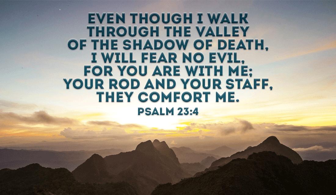 Love Understanding Quotes Wallpaper Psalm 23 4 Ecard Free Facebook Ecards Greeting Cards Online