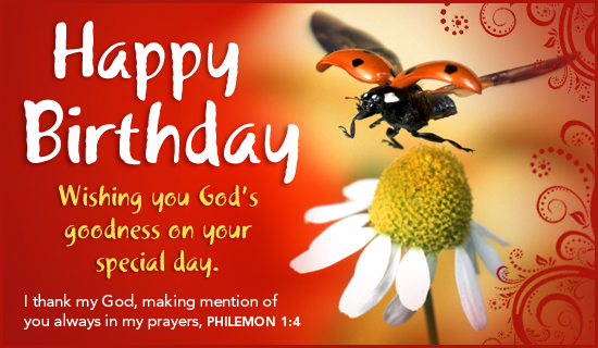 Christian Wallpaper Fall Happy Birthday Free God S Goodness Ecard Email Free Personalized