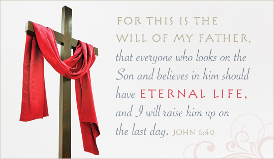 Thank You Wallpaper Animated Free John 6 40 Ecard Email Free Personalized Scripture