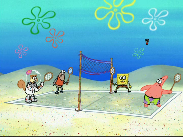 Volleyball Quotes Wallpapers Spongebuddy Mania Spongebob Episode Ditchin