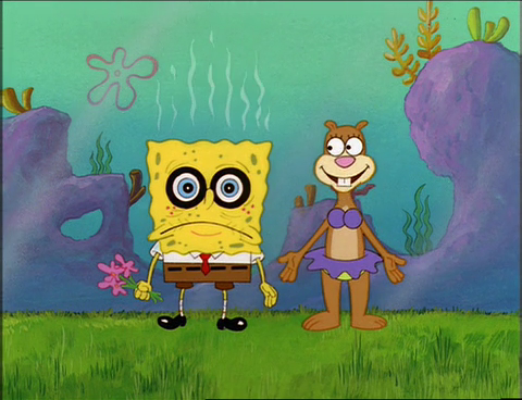 First Love Wallpapers Quotes Spongebuddy Mania Spongebob Episode Tea At The Treedome