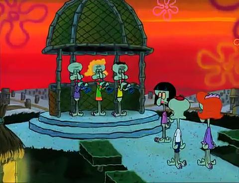 Kisses Wallpapers With Quotes Spongebuddy Mania Spongebob Episode Squidville