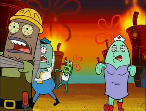 Got Quotes Wallpapers Spongebuddy Mania Spongebob Episode Once Bitten