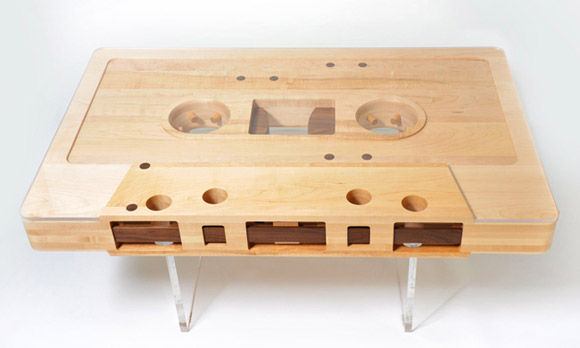 "Couchtisch Made Cool Thing We Want #347: Reclaimed Wood ""mixtape"" Table By"