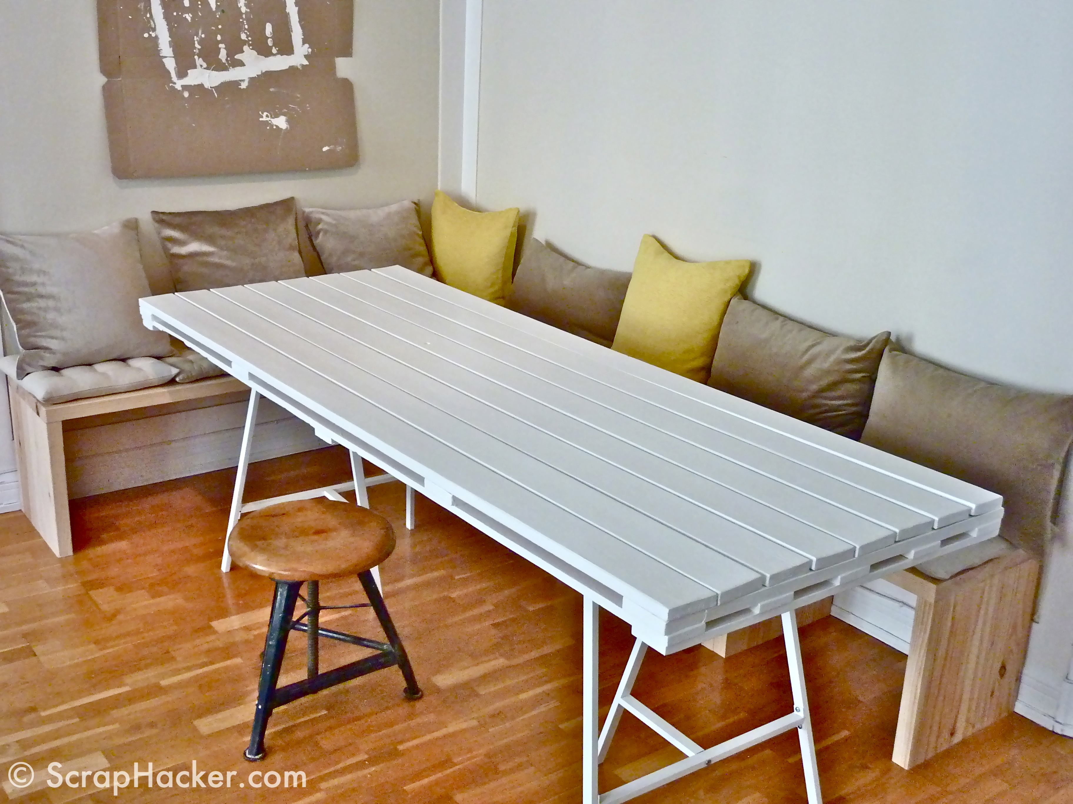 Diy Table With Pallets D I Y Pallet Dining Table A 10 Step Tutorial