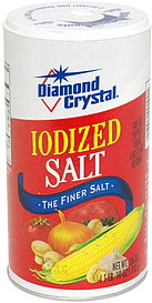 Diamond Crystal Iodized Salt 26.0 oz Nutrition Information ...