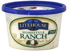 Litehouse Veggie Dip Homestyle Ranch 15.5 oz Nutrition ...