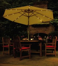 Solar-powered umbrellas light up nighttime events | SILive.com