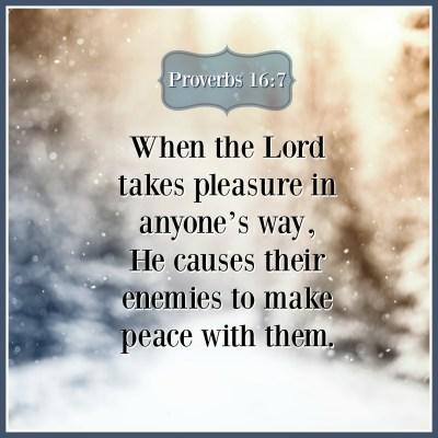 Proverbs 16:7 | KCIS 630