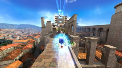 Rooftop Run - Modern Sonic - Sonic Generations - Gallery - Sonic SCANF