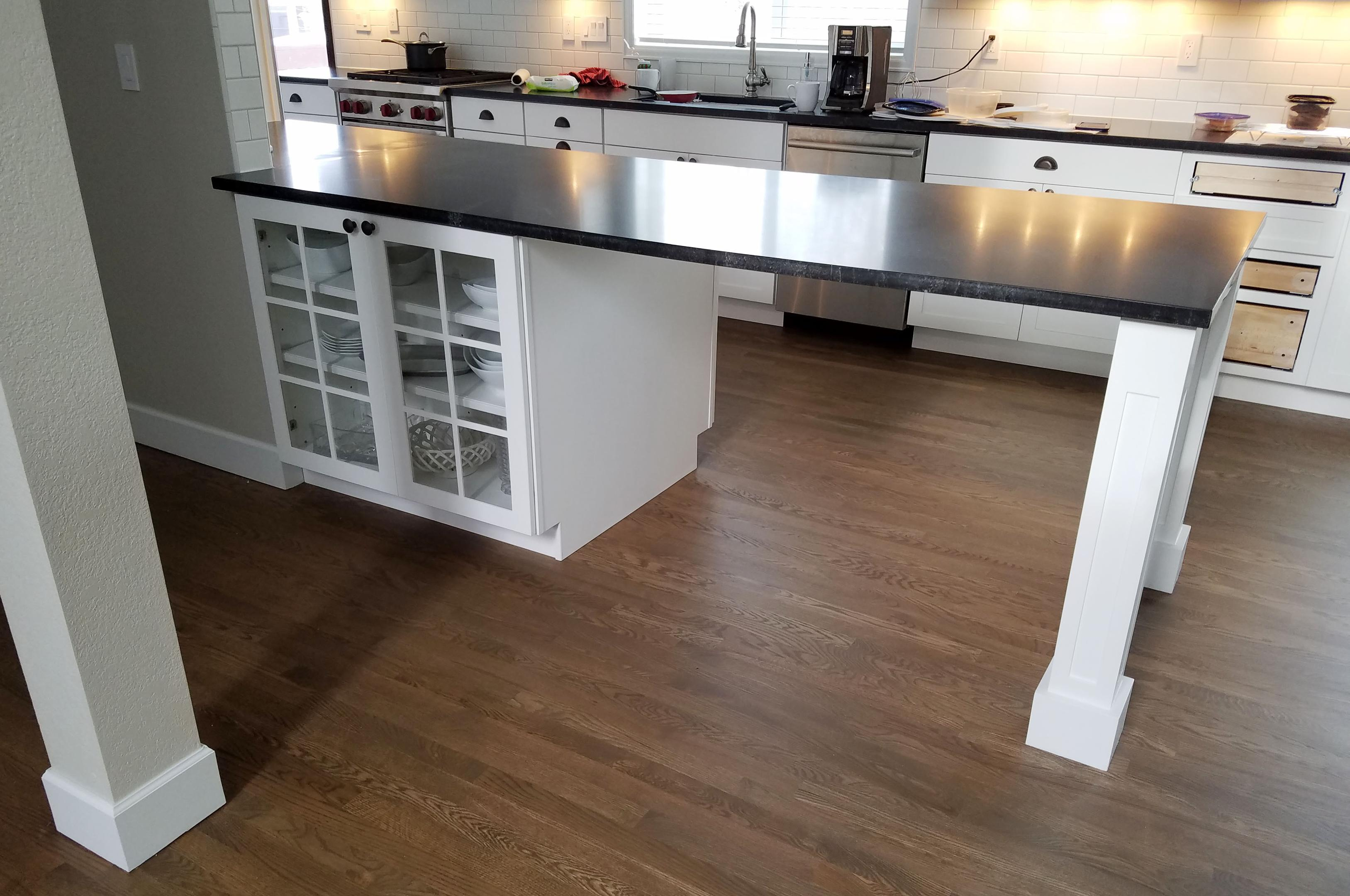 Floating Countertop Supports Granite Countertop Span Needs Support The Spokesman Review