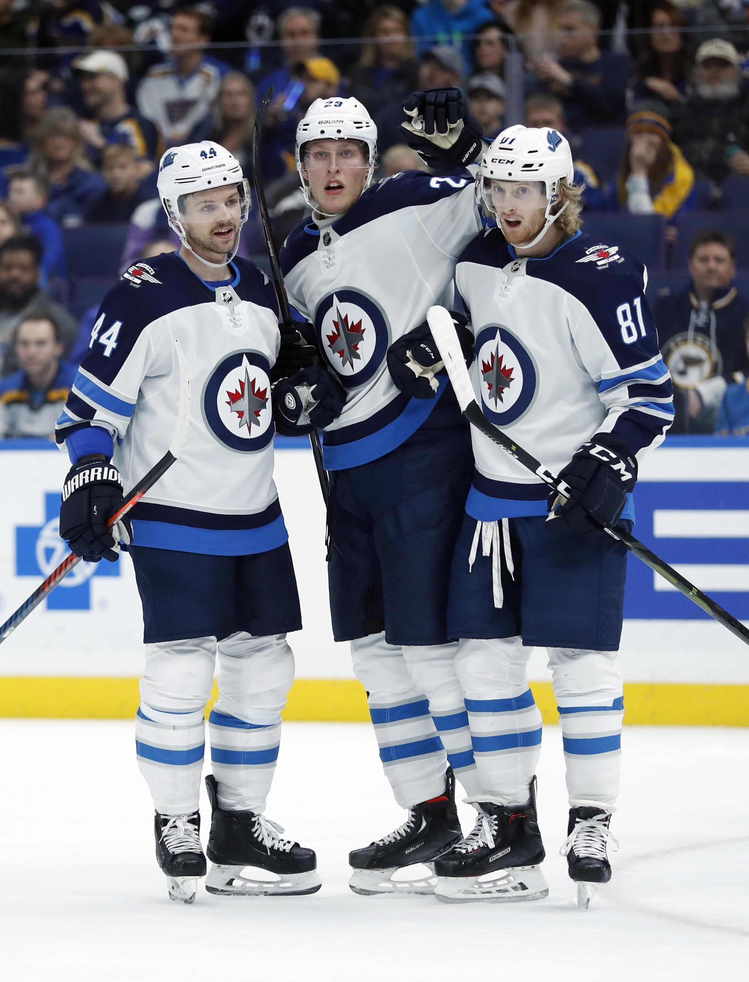 Laine Nhl Capsules Patrick Laine Nets 5 Goals Jets Defeat Blues 8 4