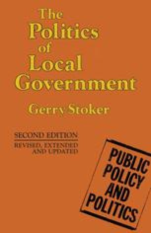 Theories of Local Government and Politics SpringerLink