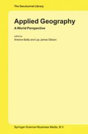 Political geography, public policy and the rise of policy analysis - geographic preference