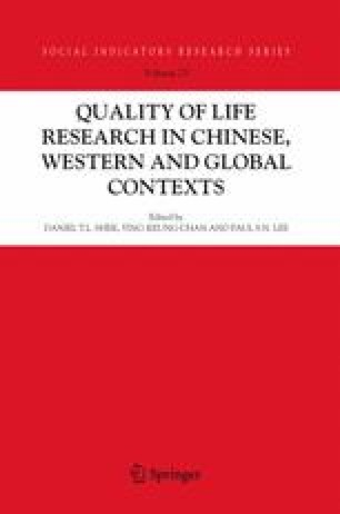 Quality of Life in Hong Kong Past Accomplishments and Future