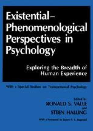 Phenomenological Research Methods SpringerLink