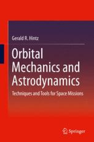 Techniques of Astrodynamics SpringerLink