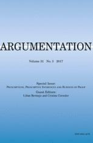Presumptions, Assumptions, and Presuppositions of Ordinary Arguments