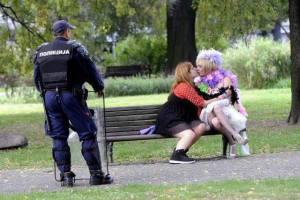 policajac i parada