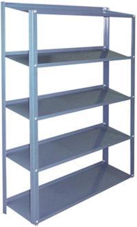 "Stackbin -- Shelving & Carts -- 12"" Deep Fixed Angle Steel ..."