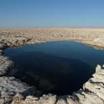Saltsjö. Atacamaöknen