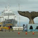 Valfångarmonumentet. Puntas Arenas