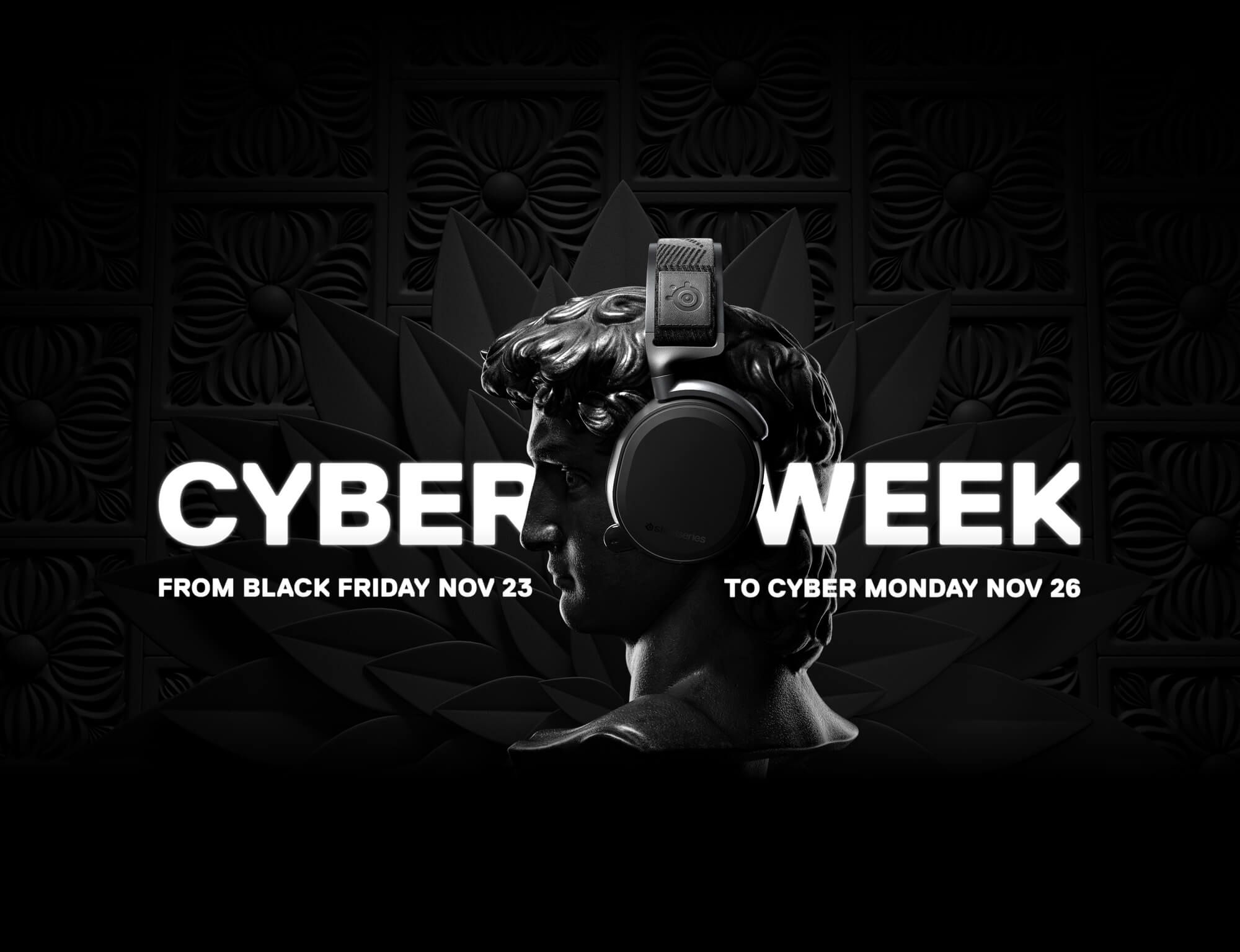 Black Week Sale Cyber Week 2018 Steelseries