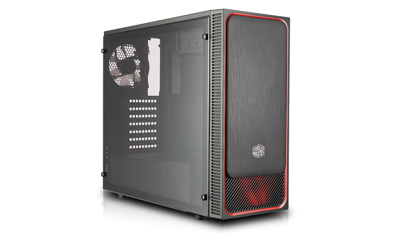 Cooler Master Masterbox E500l Midi Tower Black Red