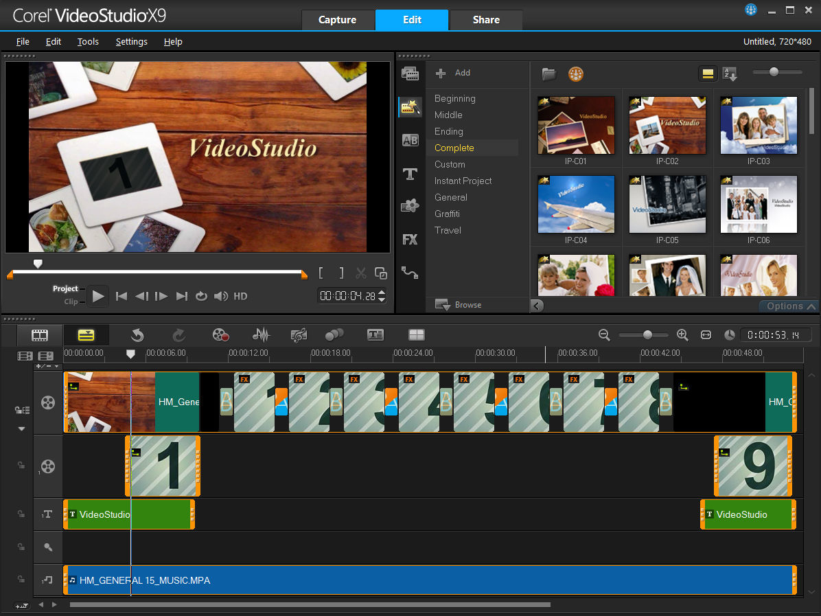 Corel Videostudio X9 Corel Videostudio X9 Ultimate Microk12