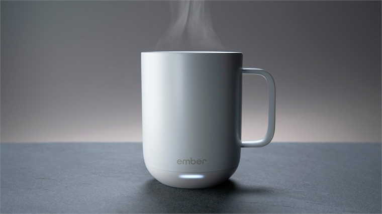 Smart Relay Self-heating Ceramic Cup | Stylus