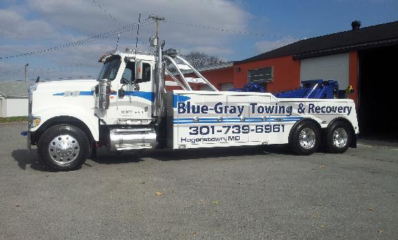 Blue-Gray Towing in Hagerstown, MD 351 E Antietam St, Hagerstown, MD - morton's towing