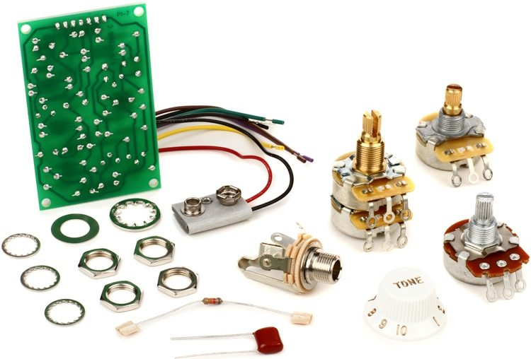 Fender Stratocaster Mid Boost Kit Sweetwater