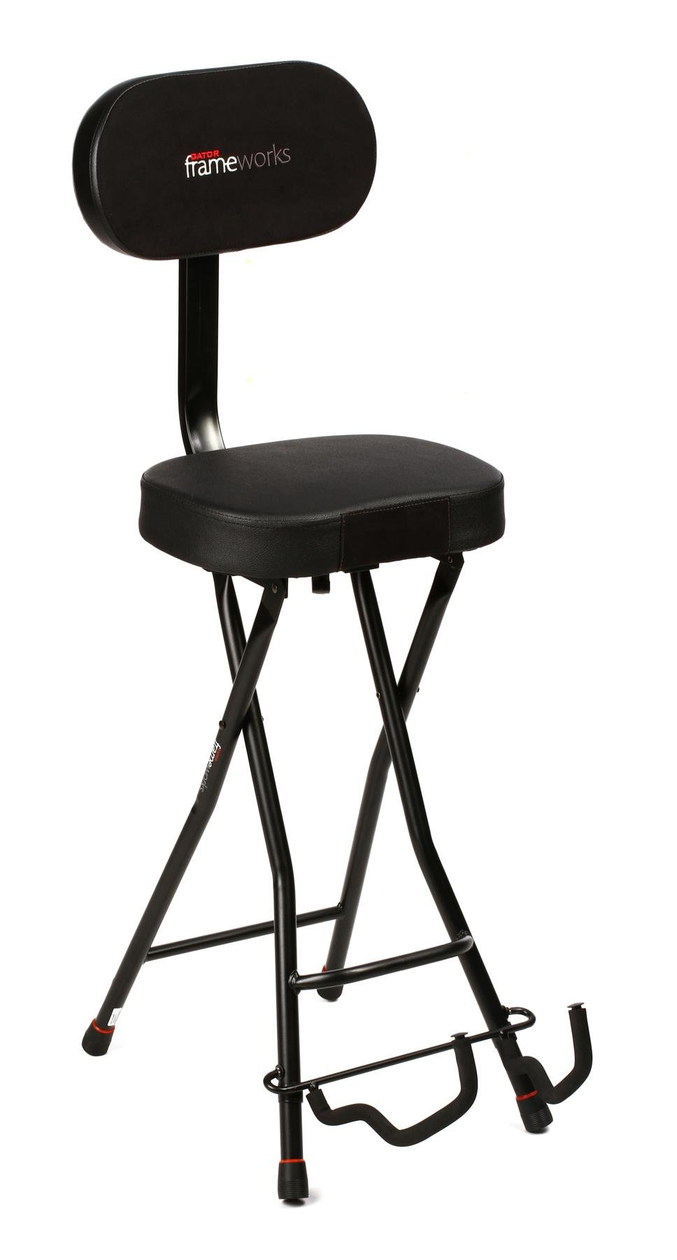 Guitar Stool Australia Gator Frameworks Gfw Gtr Seat Guitar Seat Stand Combo Sweetwater